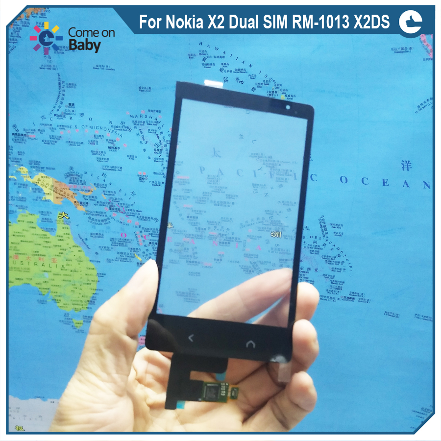 New Quality For Nokia X2 Dual Sim Rm 1013 X2ds Digitizer Touch Screen Panel Sensor Lens Glass Replacement 100test Ok In Mobile Phone Lcds From Cellphones