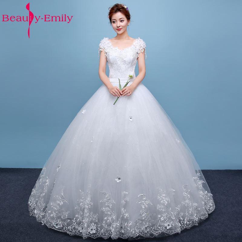 ความงาม -Emily - ชุดแต่งงาน