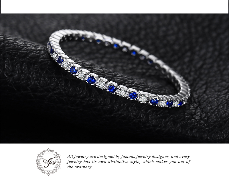 6 Onefa Hot Sale 2019 Sunflower Exquisite Womens Two Tone Silver Floral Ring Round Diamond Wedding Jewelry Gift 6-10