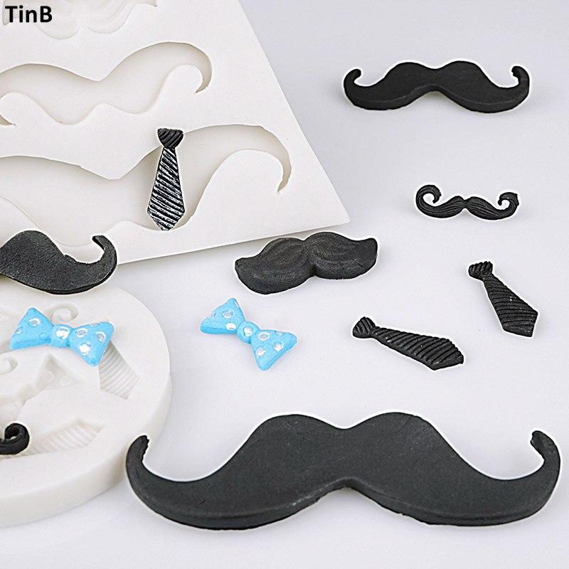 Mustache Chocolate Oreo Cookie Mold Moustache  1653 NEW