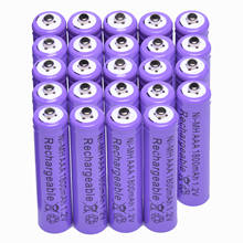 GTF 1800mAh 1.2V AAA rechargeable battery for camera MP3 mp4 microphone replacement battery Ni-MH Batteria(China)