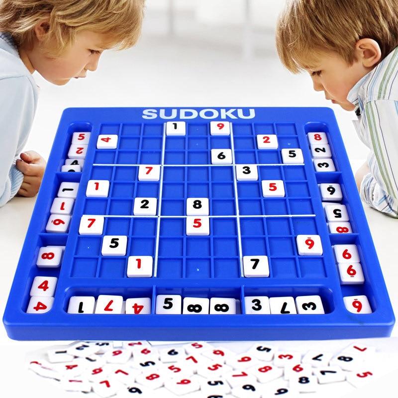 Child Jiugongge Sudoku Board Game Develop Logical Thinking ...