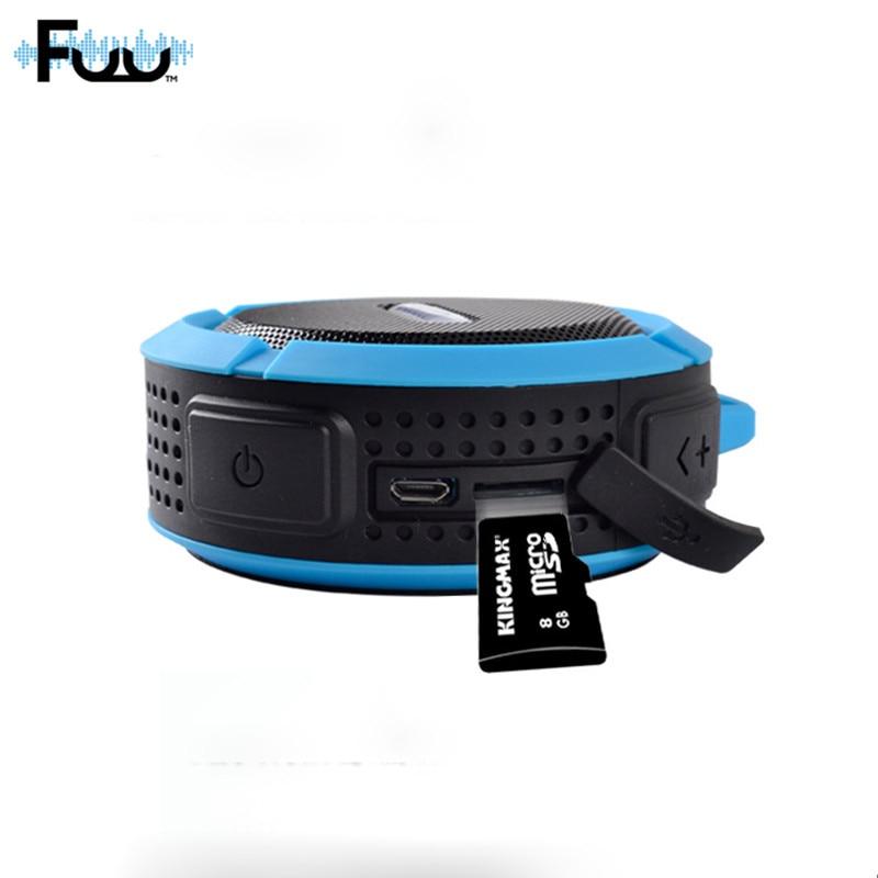 FUU C6 Altavoz Bluetooth impermeable Altavoz inalámbrico Altavoz - Audio y video portátil - foto 1