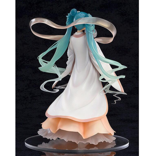 22cm Anime Hatsune Miku Action Figure 1/8 scale figure Harvest Moon Ver. PVC Action Figure Gifts no retail box (Chinese Version) 3