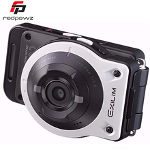Оригинал casio ex-fr10 2.0 «жк-14mp отделимые действий камеры 21 мм супер широкоугольный f2.8 wifi bt камера спорта