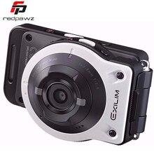 """Original casio ex-fr10 2.0 """"lcd separable 14mp cámara de la acción 21mm super gran angular f2.8 wifi bt deportes cámara"""