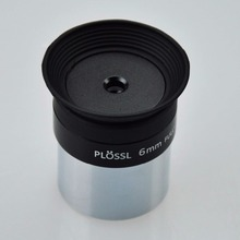6mm 1.25inch Plossl Telescope Eyepiece - 4-element Plossl Design - Threaded for Standard 1.25inch Astronomy Filters