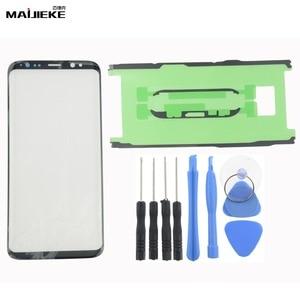 Image 3 - Lente exterior de Panel táctil para Samsung Galaxy Note 10 plus S8 Plus S9 Plus S10 plus S10 S10e Note 9 8, repuesto de cristal frontal