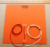 350X350mm 800W@110V, w/ NTC 100K Thermistor,Keenovo Silicone Heater 3D Printer Heater,Heatbed Large Plate Heating Mat