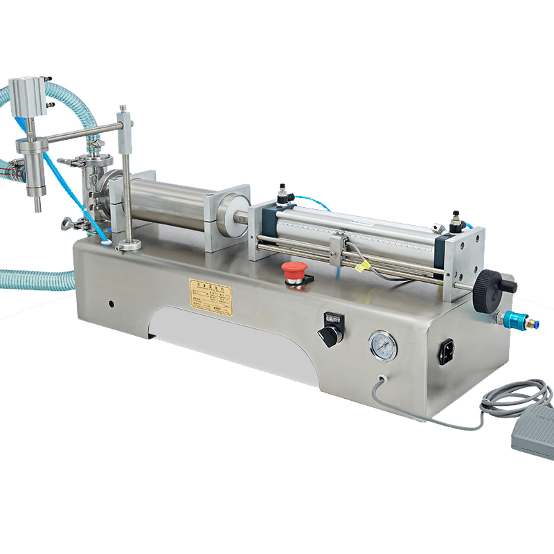 Semi-Automatic Liquid Filling Machine, Pneumatic, Semi Filler, Piston Filler Semi-automatic piston