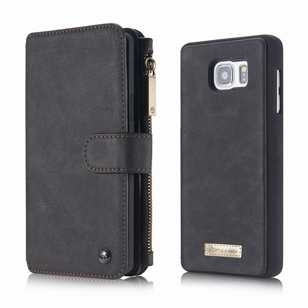 For Coque Samsung Galaxy Note 7 Case Luxury Brand Genuine Leather Magnetic Cover For Samsung Galaxy Note 7 Case Wallet Zipper