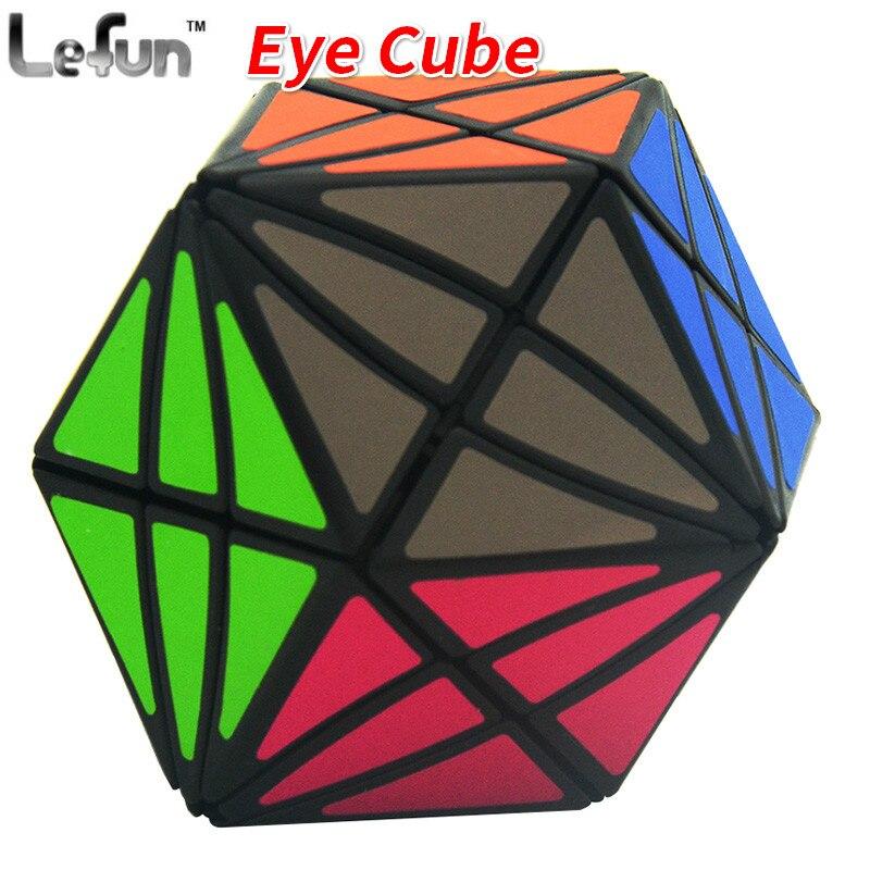 Lefun Olho Estranho-forma de Cubo Mágico Cubo Mágico Velocidade Torção Enigma Brinquedos Educativos Cubo Magico Brinquedos Para Crianças Crianças