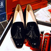 2016 Women Famous Brand Ladies Footwear Fashion Tassels Loafers Genuine Leather Designer Shoes Woman Spring Casual