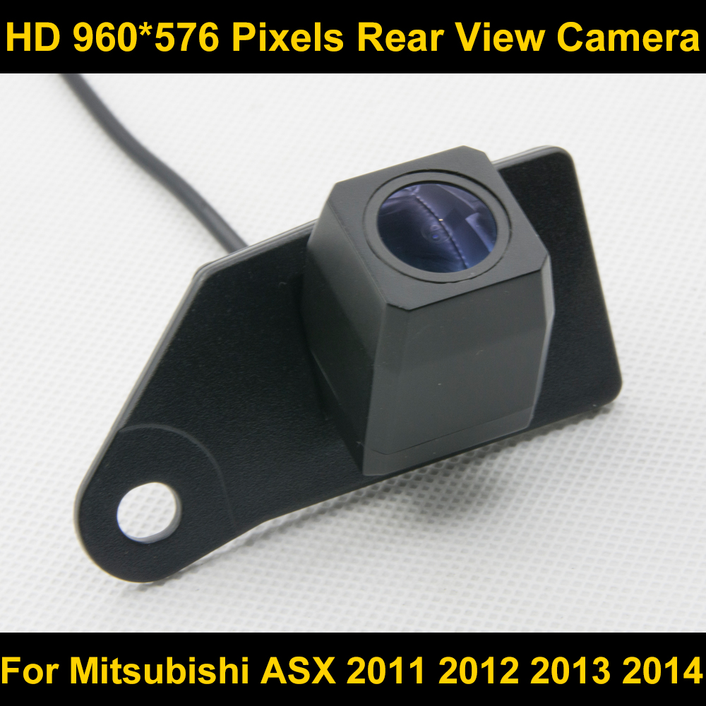 PAL HD 960*576 Pixels high definition Car Parking Rear view Camera for Mitsubishi ASX 2011 2012 2013 2014 Car Waterproof Camera pal hd 960 576 pixels car parking rear view camera for ford mondeo focus hatchback fiesta s max 2007 2008 2010 2011