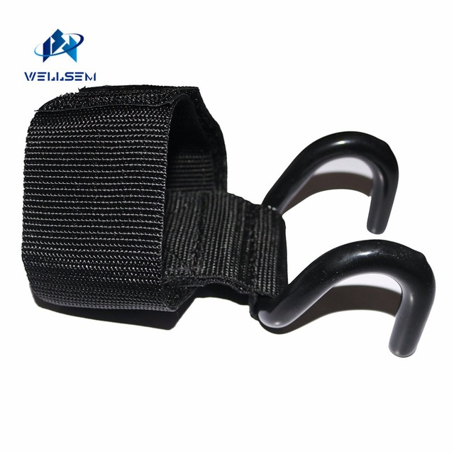 1PC Weight Lifting Hook Hand Bar Wrist Straps Glove Weightlifting Strength Training Gym Fitness hook Support Lift Grip belt