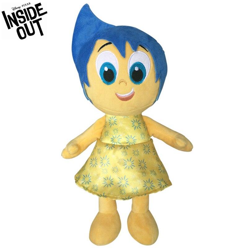 Disney Inside Out Plush Toy Joy Plush Doll Stuffed Animal Plush Toy Cute Fashion Girl Gift Christmas Gift Anime Cartoon Characte