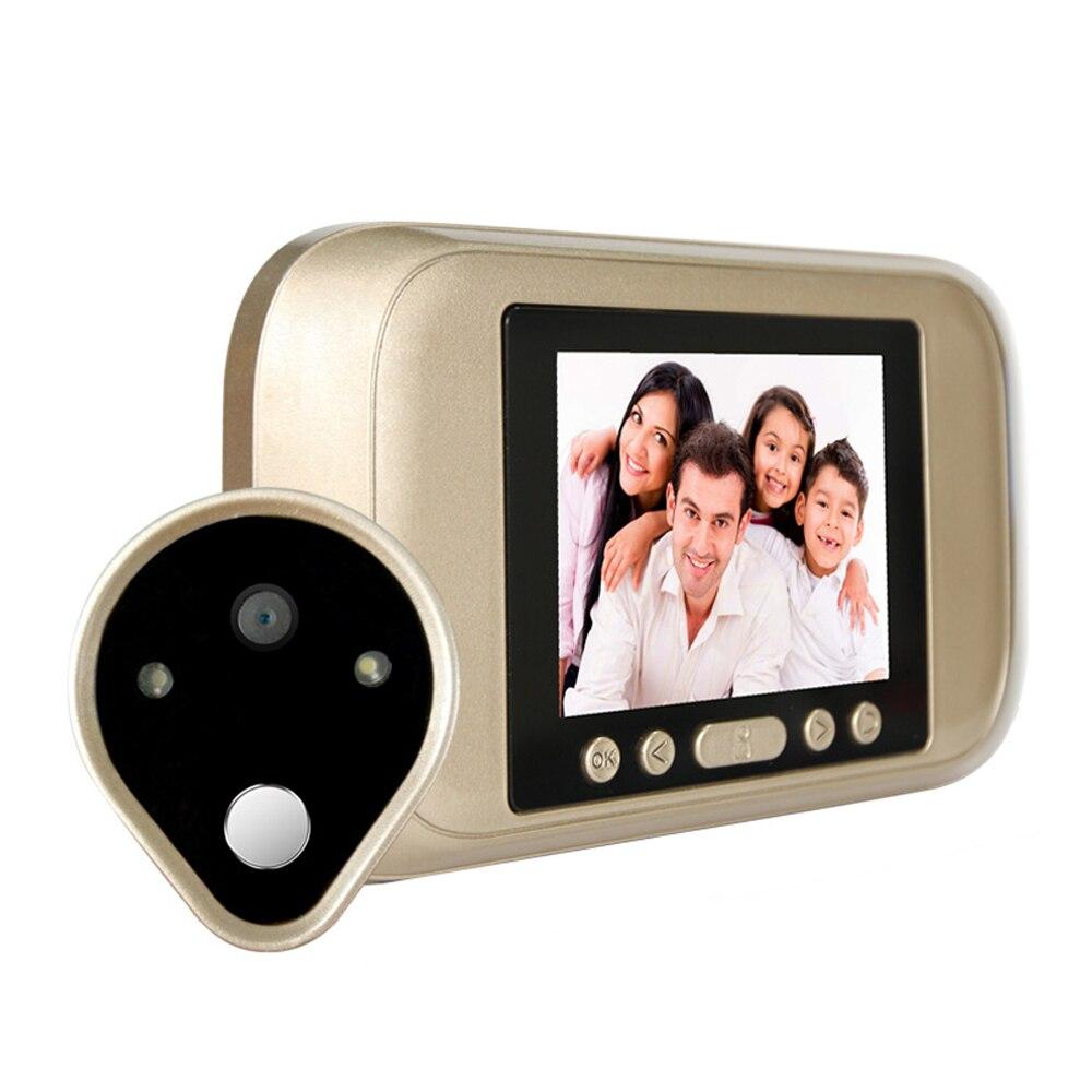 Intelligent digital 3.2 inch Smart Doorbell viewer 720HD Camera Standalone Video door phone visual intercom system use battery