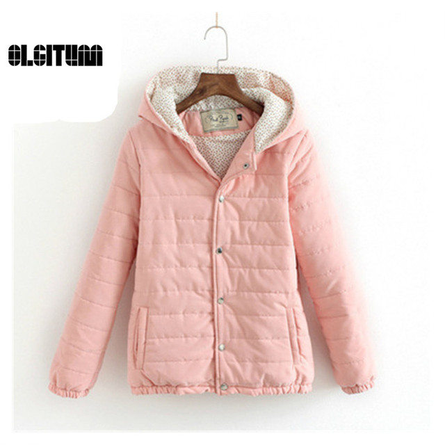 Winter Women Coat 2016 Casual Outwear Casual Hooded Coat Woman Clothes Coats femme Winter Jacket