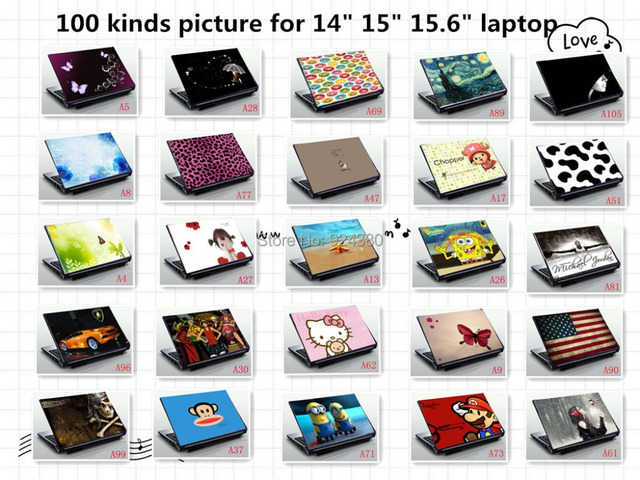 Aliexpress.com : Buy free ship print vinyl laptop skin stickers ...