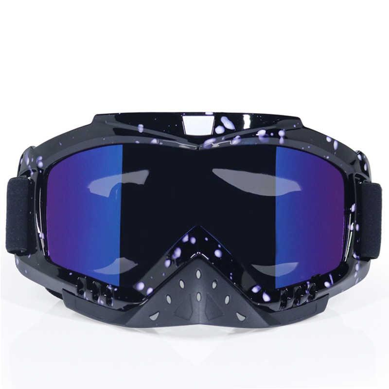 090cfb9d23 NEW Motorcycle Dustproof Glasses Motocross Off-Road Dirt Bike Downhill  Racing Goggles UV Protection Ski