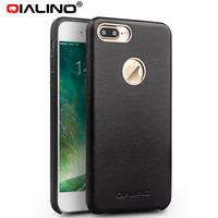 QIALINO For Iphone 8 Genuine Leather Case For Iphone 8 Plus Real Leather Luxury Ultra Slim