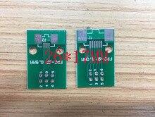 Бесплатная доставка 100 ШТ. FPC 6PIN плата адаптера FFC 2.54 dip-tft LCD панели 1 мм 0.5 мм шаг двухсторонней ПЕЧАТНОЙ ПЛАТЕ