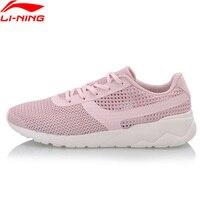Li-Ning/женская вязаная классическая спортивная обувь с легкой комфортной подкладкой, дышащие кроссовки для фитнеса, AGCN028 YXB170