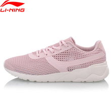 Li-Ning Women HEATHER KNIT Classic Lifestyle Shoes Light Comfort LiNing Sport Shoes Fitness Breathable Sneakers AGCN028 YXB170