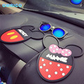 New Design Mickey Mouse Car Dashboard Minnie Non-slip Mat Phone Holder Car Accessories