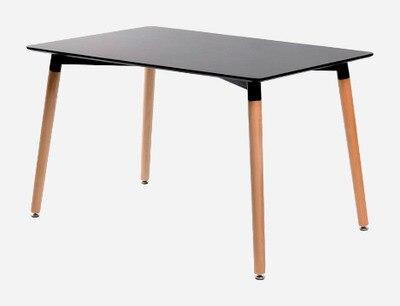 Modern Design Wood Leg MDF Top Dining Tea Table, Wood Cafe Table Classic  Modern Design Dining Table, Loft Wooden Table In Dining Tables From  Furniture On ...