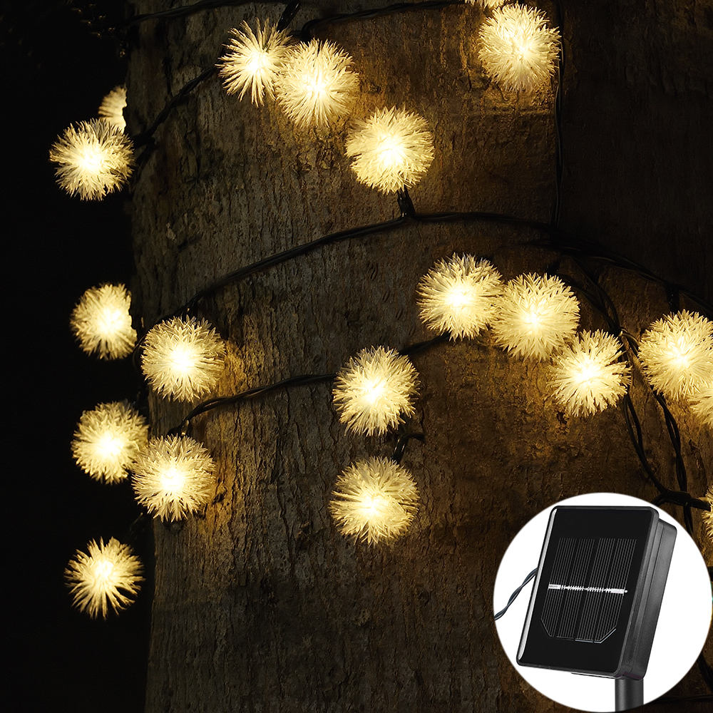 Solar String Fairy Lights 5 M 20LED 8m 60led Waterproof Solar Power Solar Lights For Outdoor Gardens Homes Christmas Party