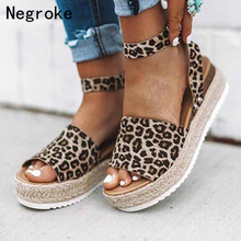 Women Sandals Plus Size Wedges Shoes For High Heels Summer Sexy Espadrilles Gladiator Platform