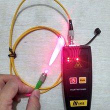Yujie бренд 650nm 50 мВт лазерный волоконный оптический мини волоконно-оптический кабель красный светильник тестер волокно проверки Визуальный дефектоскоп VFL 25 км