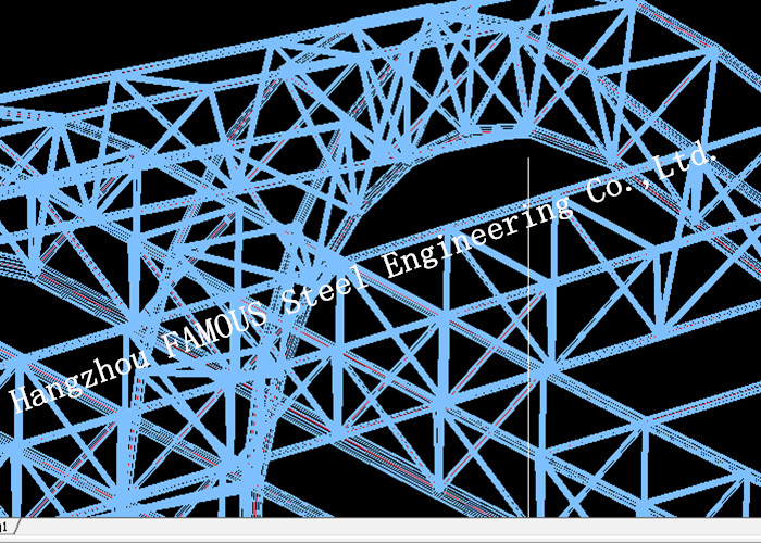 Synthetic Stadium Steel Structure Building Architectural And Structural Engineering Designs Consulting And Supervising
