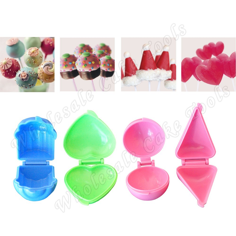 cake pop molds aliexpress buy 4 in 1 plastic mould set 2292