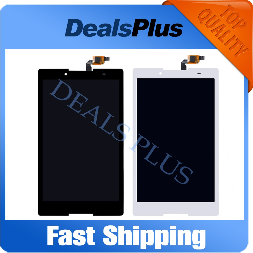 Replacement New LCD Display Touch Screen Assembly For Lenovo Tab 2 A8-50 A8-50F A8-50LC 8-inch Black Free Shipping replacement original touch screen lcd display assembly framefor huawei ascend p7 freeshipping