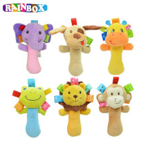 Musical Baby Rattles Plush Infant Baby font b Toys b font Animal Plush font b toys