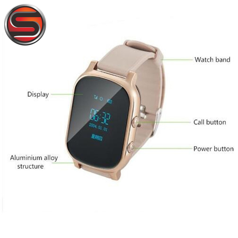 SOVOGU G02 GPS AND SIM Card Smart Watch Children watches T58 Smartwatch with SOS GPS Tracker Phone Call reloj gps Kids children smart watch phone smartwatch android kids gps watch sos electronics smart watches wearable devices