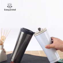 2018 Car Thermos Double Wall Stainless Steel Coffee Thermocup Mugs Thermal Bottle 350ml Thermocup Fashion Tumbler Vacuum Flask