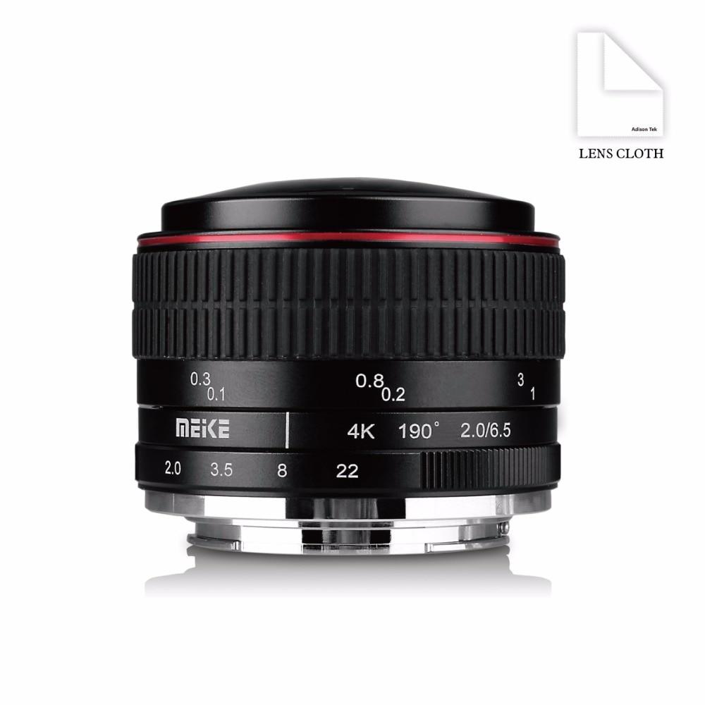 Meike 6.5mm Ultra Wide f/2.0 Fisheye Lens for Canon Mirorrless Camera