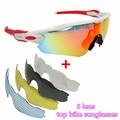 12color 5 lens sport sunglasses cycling sunglasses bicycle sunglasses Polarized mtb bike glasses road Goggles Eyewear Ciclismo E