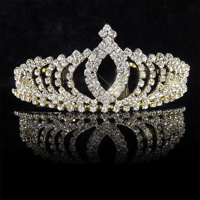 Princess Tiaras Crowns Gold...