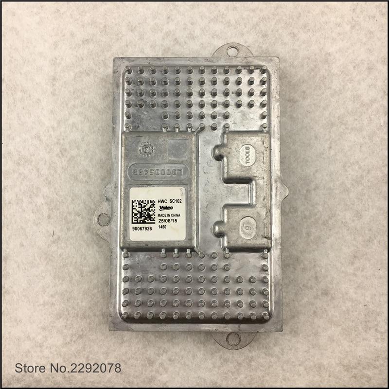 ФОТО Original (used)  VA LEO LED Driver Module LED Headlight Module  90067926