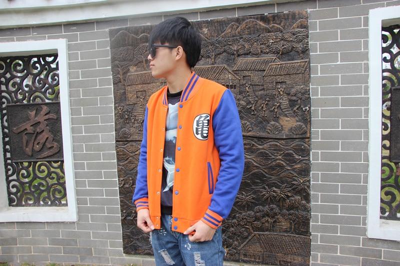 autumn  warm  Anime Japan Sweatshirt Hoodie Dragon Ball baseball Cosplay Costume  Hoody
