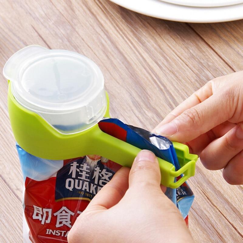 Clamp Helper Sealing-Clip Clip-Snack Fresh-Sealer Food-Storage-Bag Kitchen-Tools Pour
