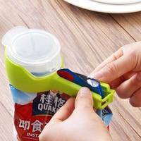 Neue Dichtung Gießen Lebensmittel Lagerung Tasche Clip Snack Abdichtung Clip Halten Frische Sealer Clamp Kunststoff Helfer Lebensmittel Schoner Reise Küche werkzeuge