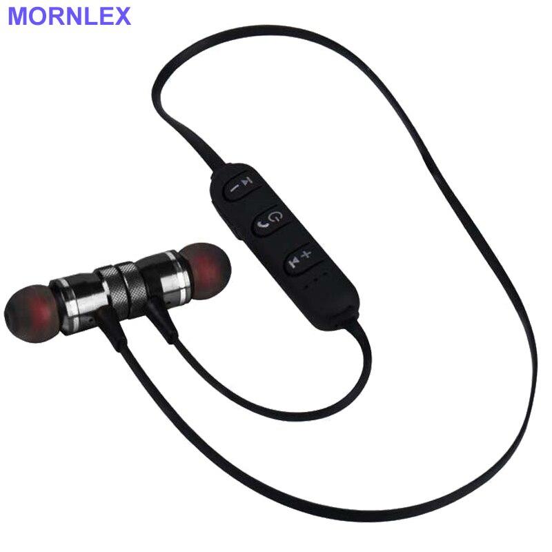 Auriculares bluetooth metal earphone headphones with mic neckband sport ear phone bluetooth 20 PCS wholesale bluetooth headset
