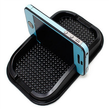 Multi-functional car Anti Slip pad Rubber Mobile Sticky stick Dashboard Phone Shelf Antislip Mat For GPS MP3 car DVR non slip