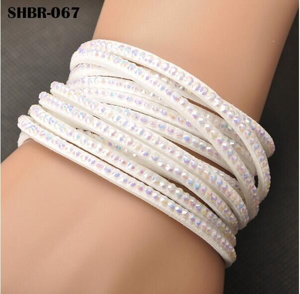 Lokaer Charms Bracelet Hot Sale Wholesale Fashion Wrap Bracelet Multilayer Brace