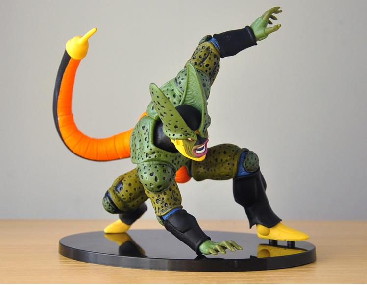 цена на Anime Dragon Ball Z DXF Cell PVC Action Figure Collectible Model Toy without box 15.5cm